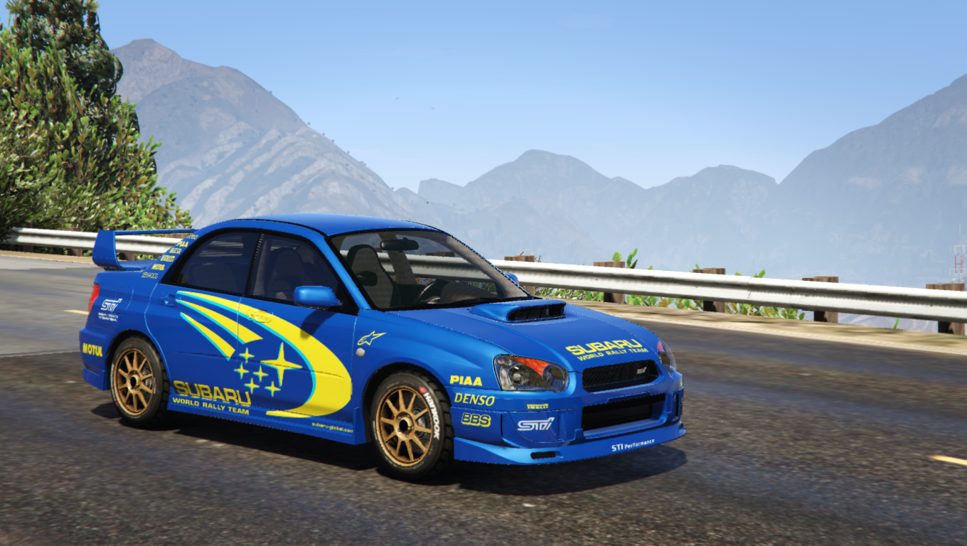 subaru impreza wrx sti 2004 world rally team livery gta5. Black Bedroom Furniture Sets. Home Design Ideas