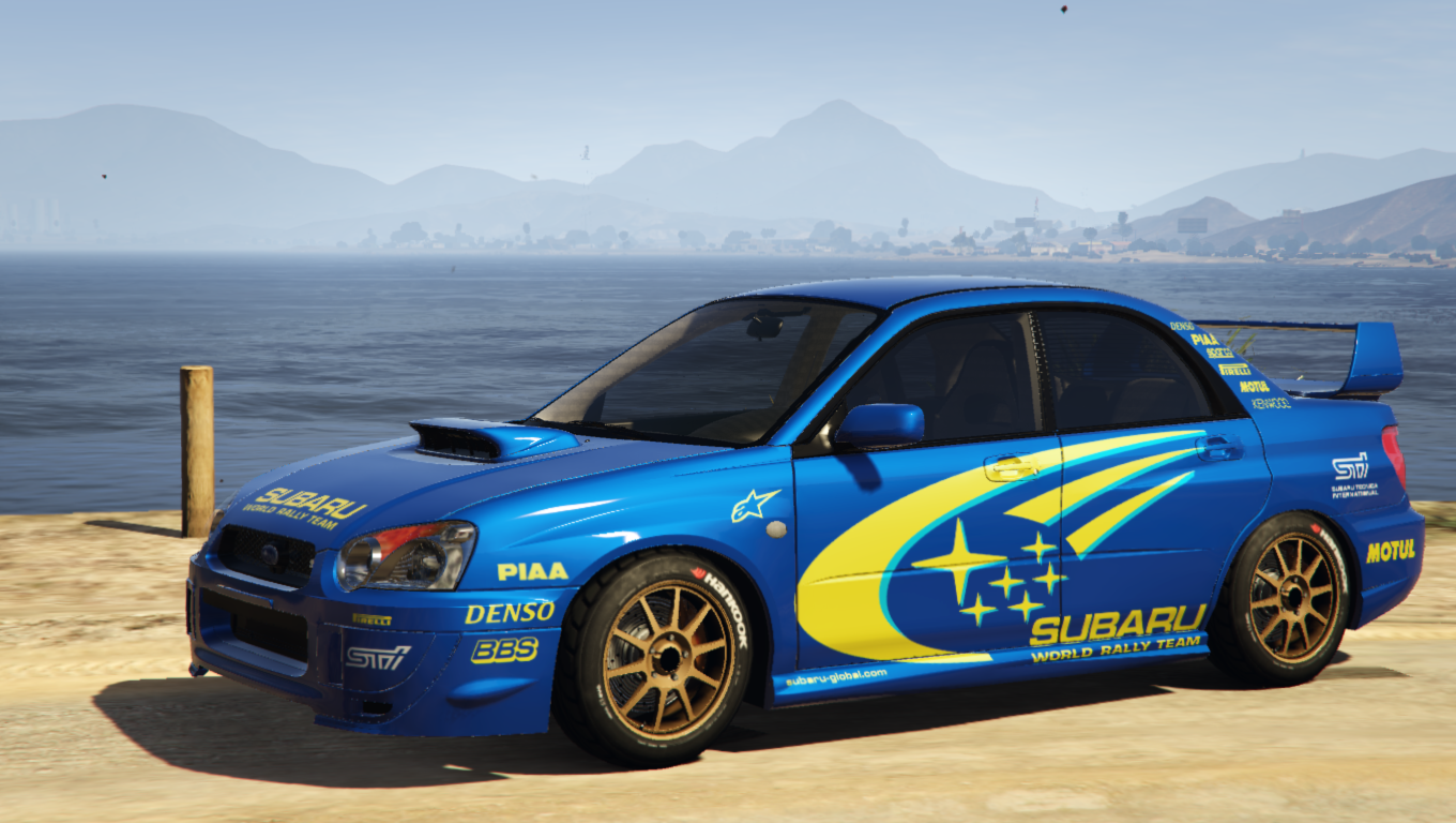 subaru impreza wrx sti 2004 world rally team livery. Black Bedroom Furniture Sets. Home Design Ideas