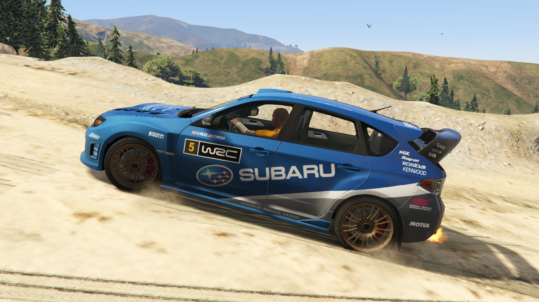 subaru impreza wrx sti llivery tuning kit gta5. Black Bedroom Furniture Sets. Home Design Ideas