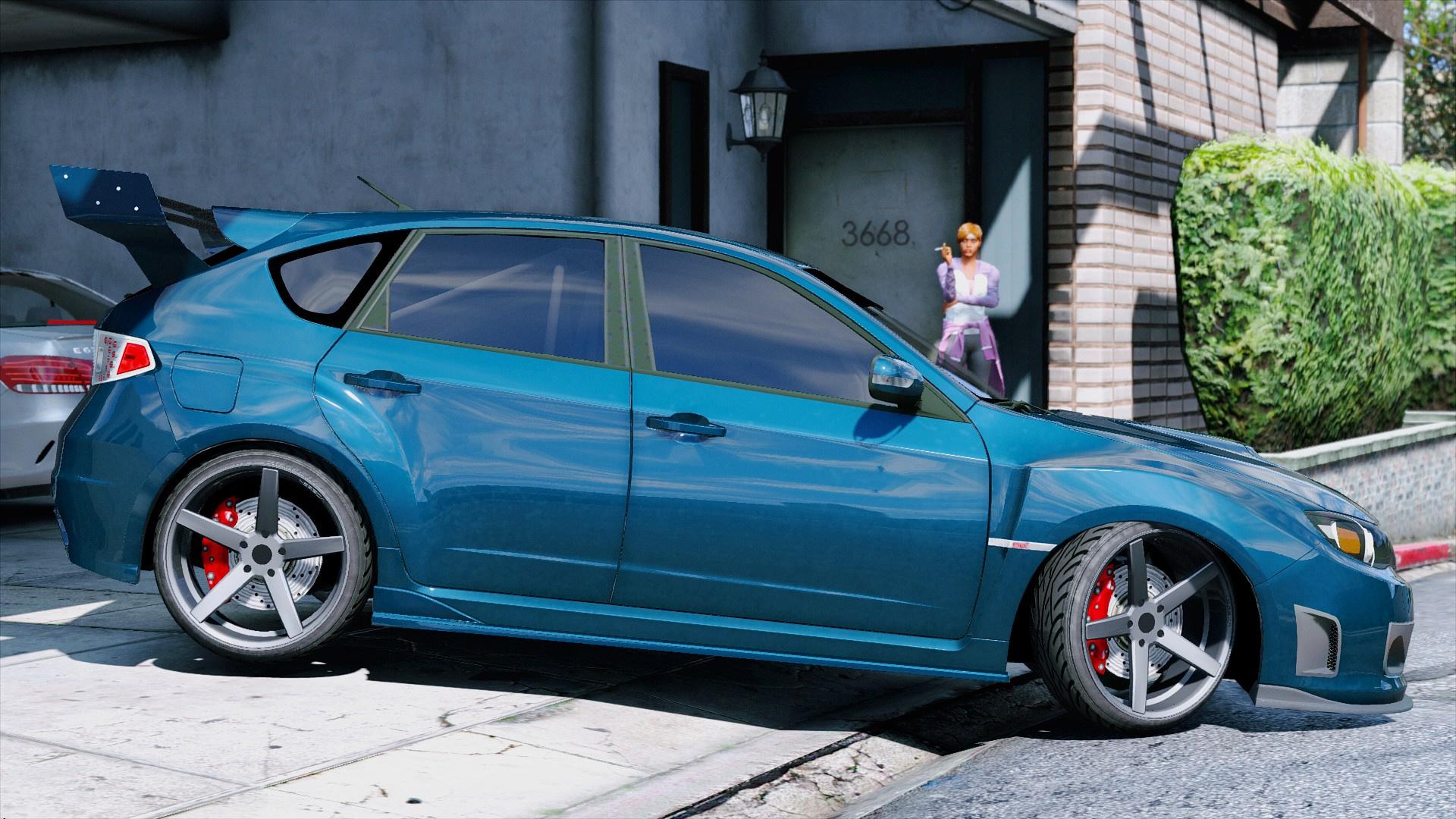 Subaru Impreza WRX STI - GTA5-Mods com