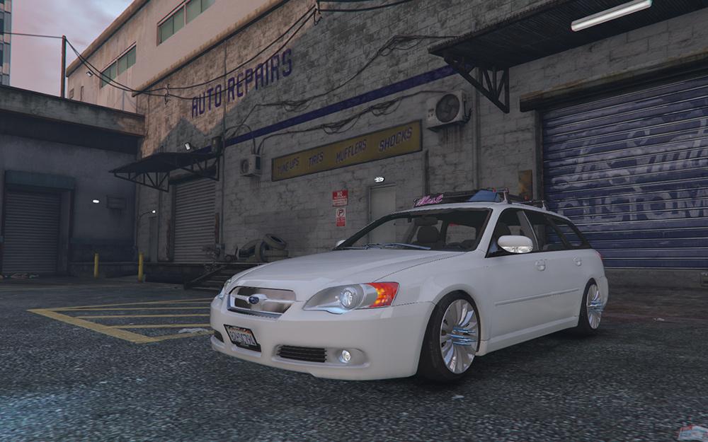 Subaru Legacy Touring Wagon BP5 - GTA5-Mods.com