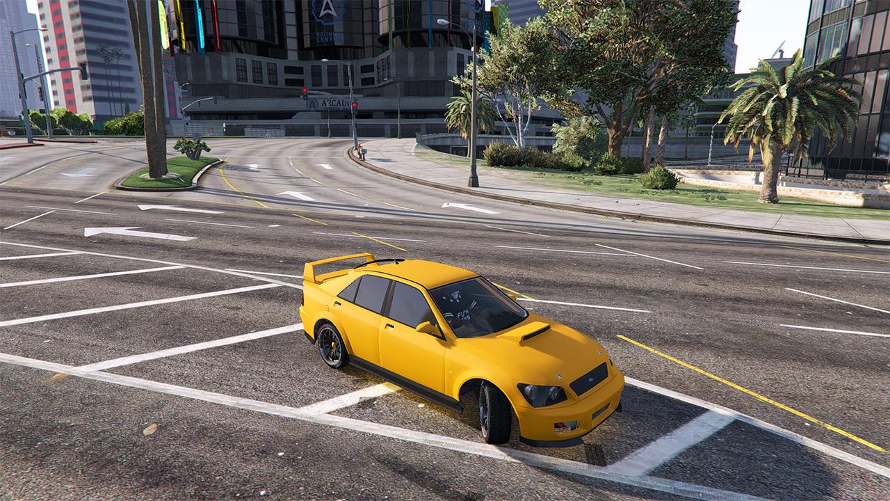 Don Franklin Mitsubishi >> Sultan RS/Subaru Impreza - New Spoilers - GTA5-Mods.com