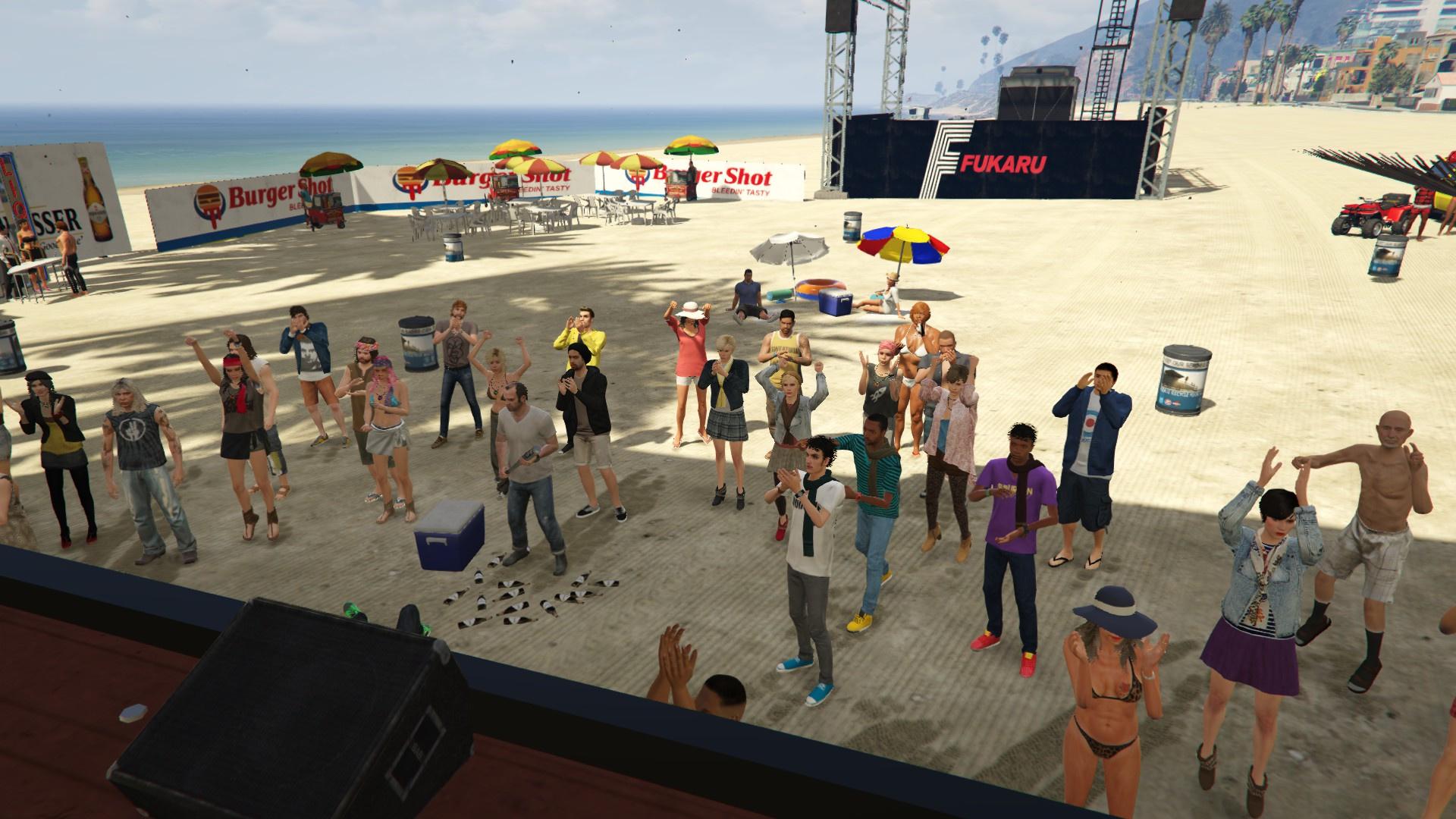 Summer Beach Festival Gta5 Mods Com