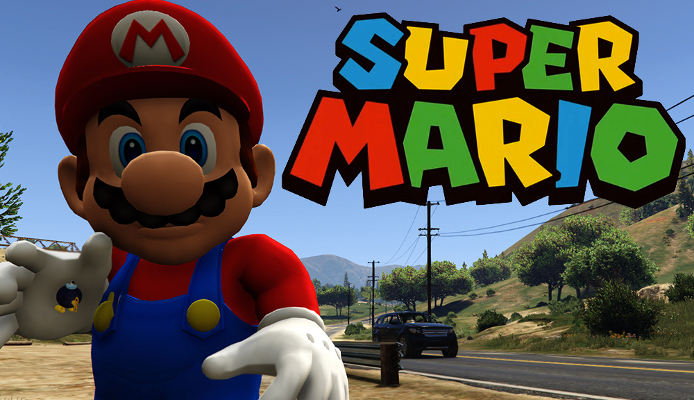 super mario and bomb omb gta5 mods com