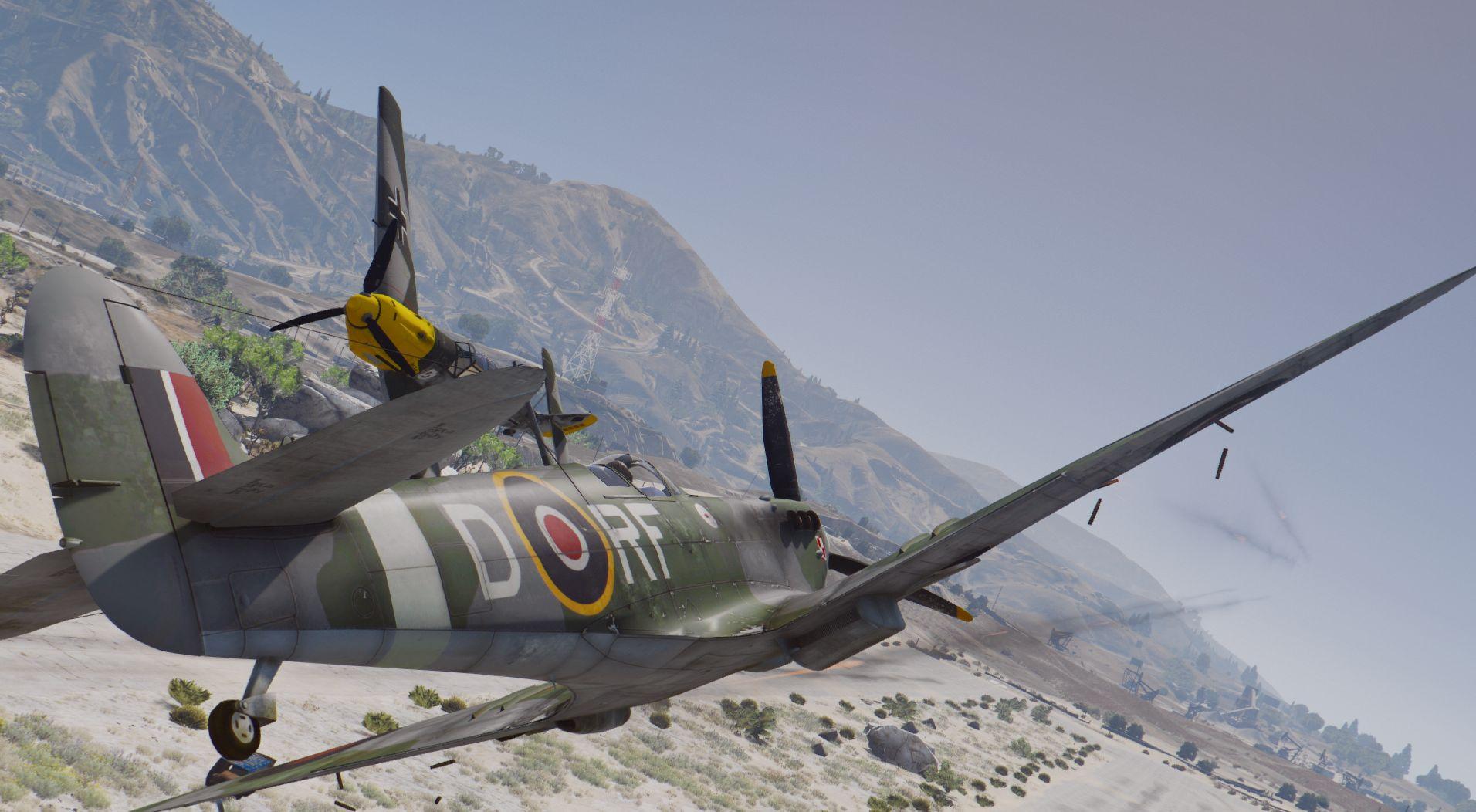 Supermarine Spitfire Mk.IIB [Add-On] - GTA5-Mods.com