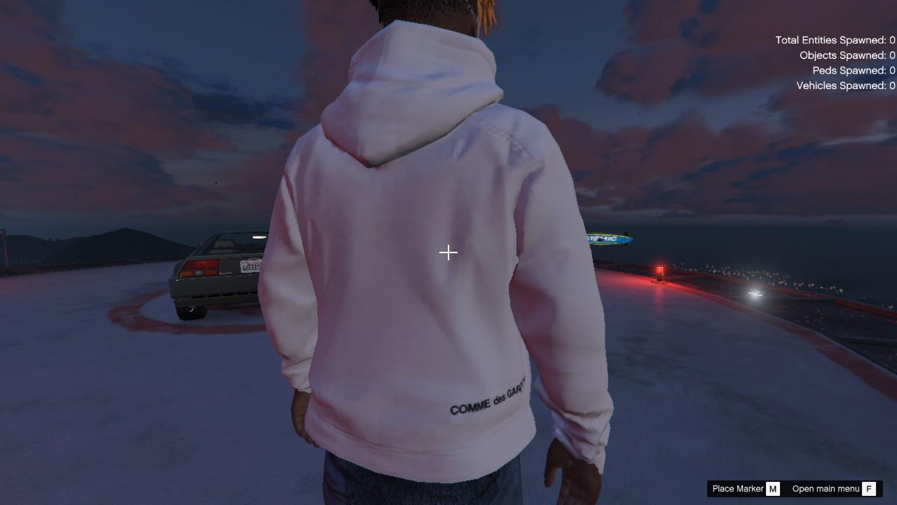 e56914558a73 Supreme®/Comme des Garçons SHIRT® Split Box Logo Hooded Sweatshirt ...