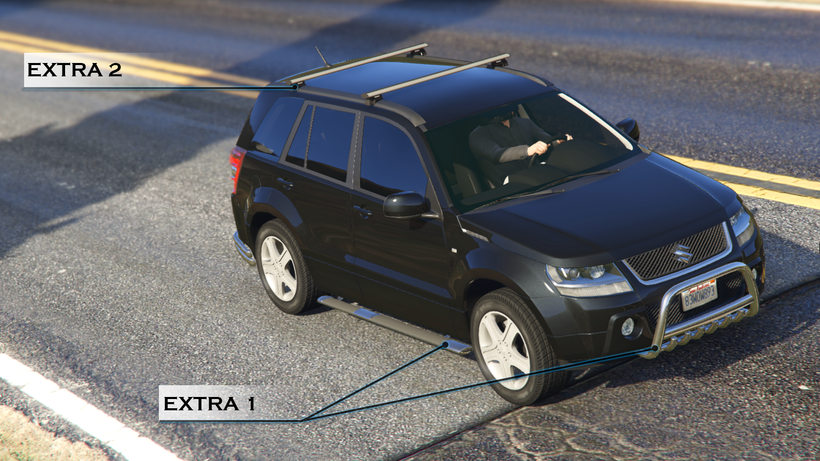 Suzuki Grand Vitara Add On Replace Gta5 Modscom
