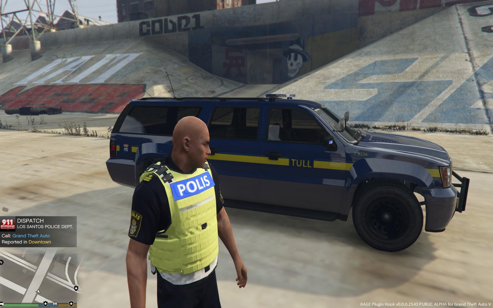Swedish police uniform - GTA5-Mods com