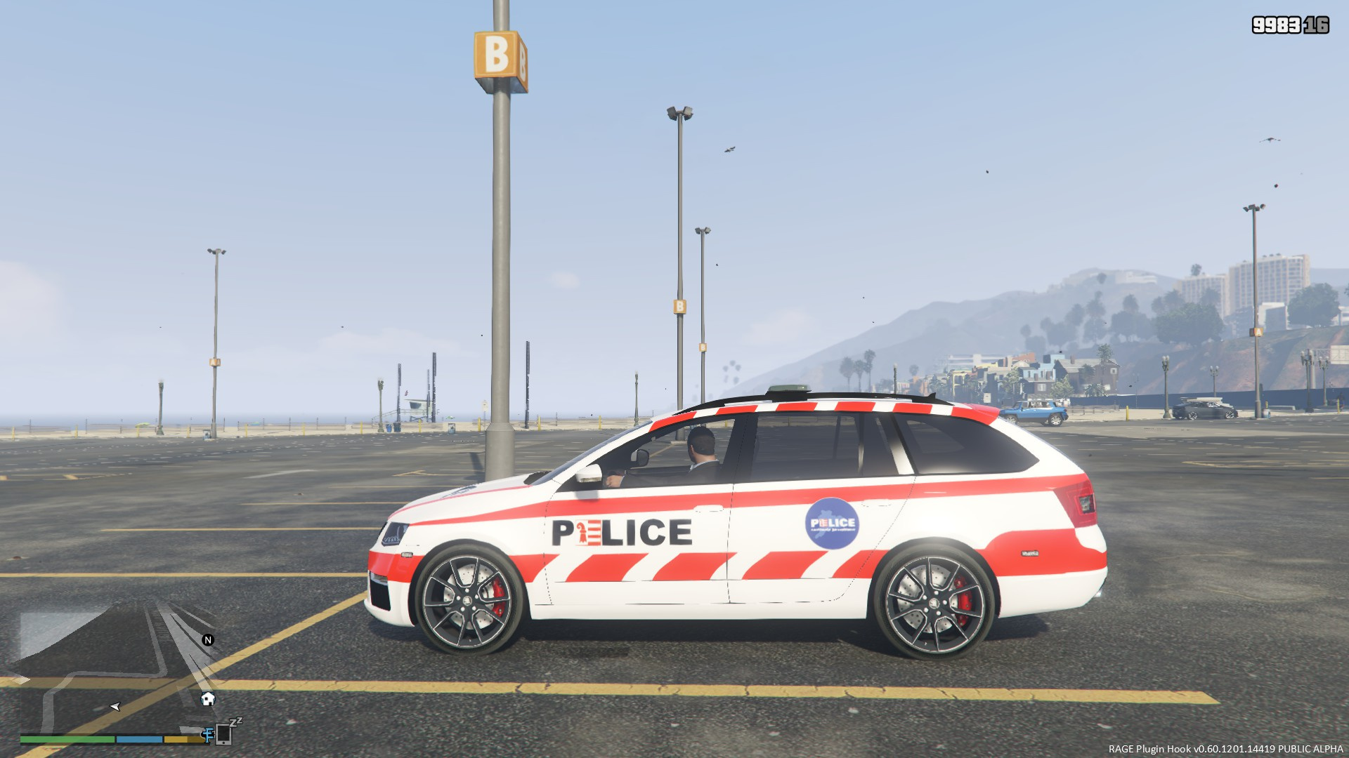 swiss police skoda octavia gendarmerie jurassienne gta5. Black Bedroom Furniture Sets. Home Design Ideas
