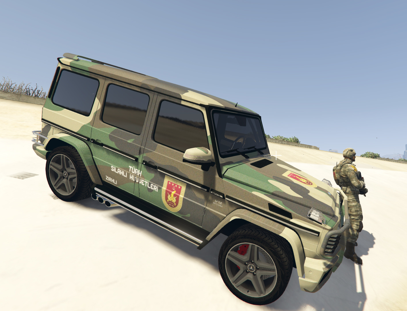 S K t s k mercedes g65 amg gta5 mods com