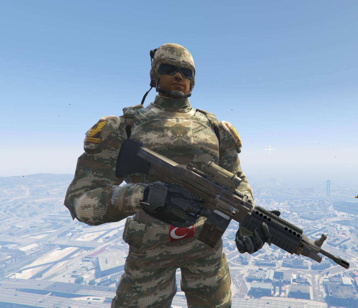 Tsk Yeni Nesil Süper Asker 4k Gta5 Modscom