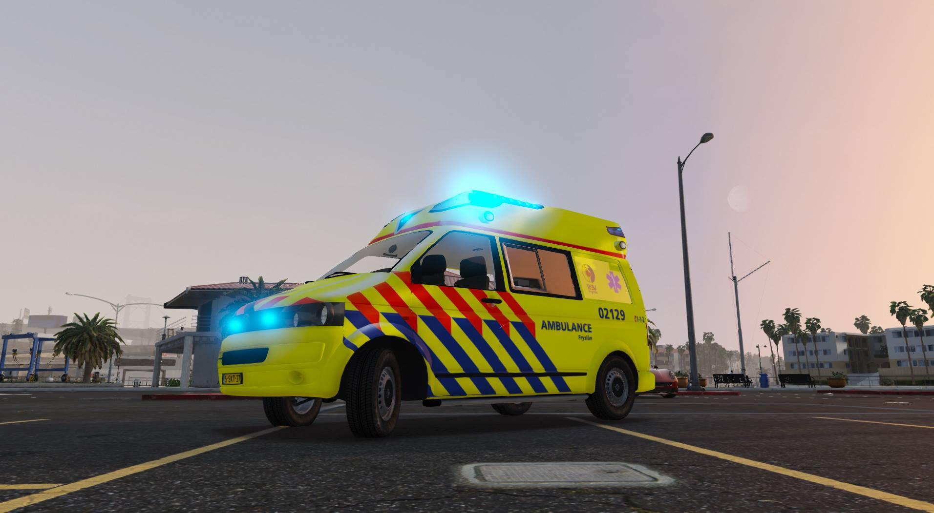 Volkswagen t ambulance heerenveen els gta mods