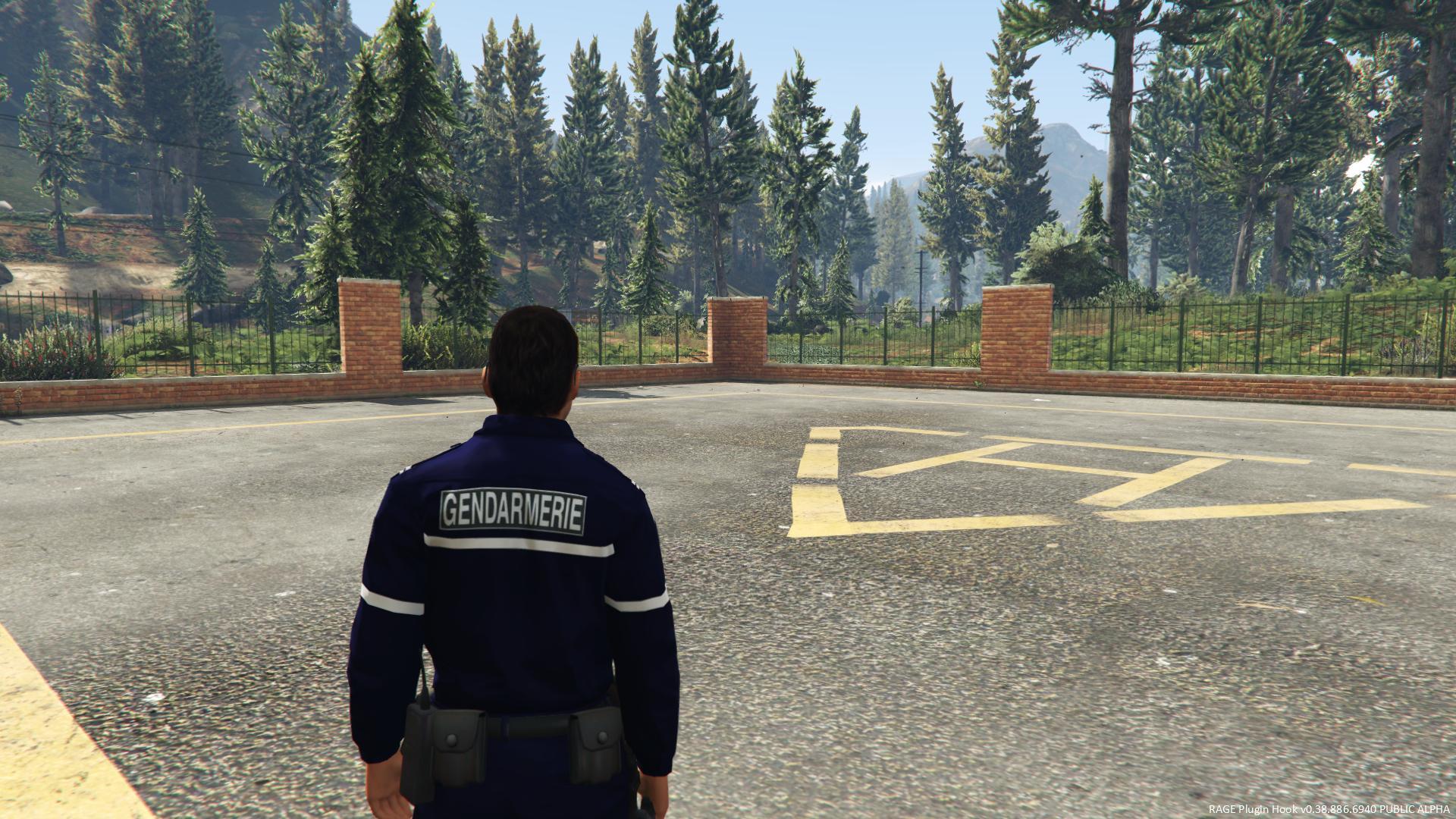 Tenue Gendarmerie 4k Gta5 Mods Com