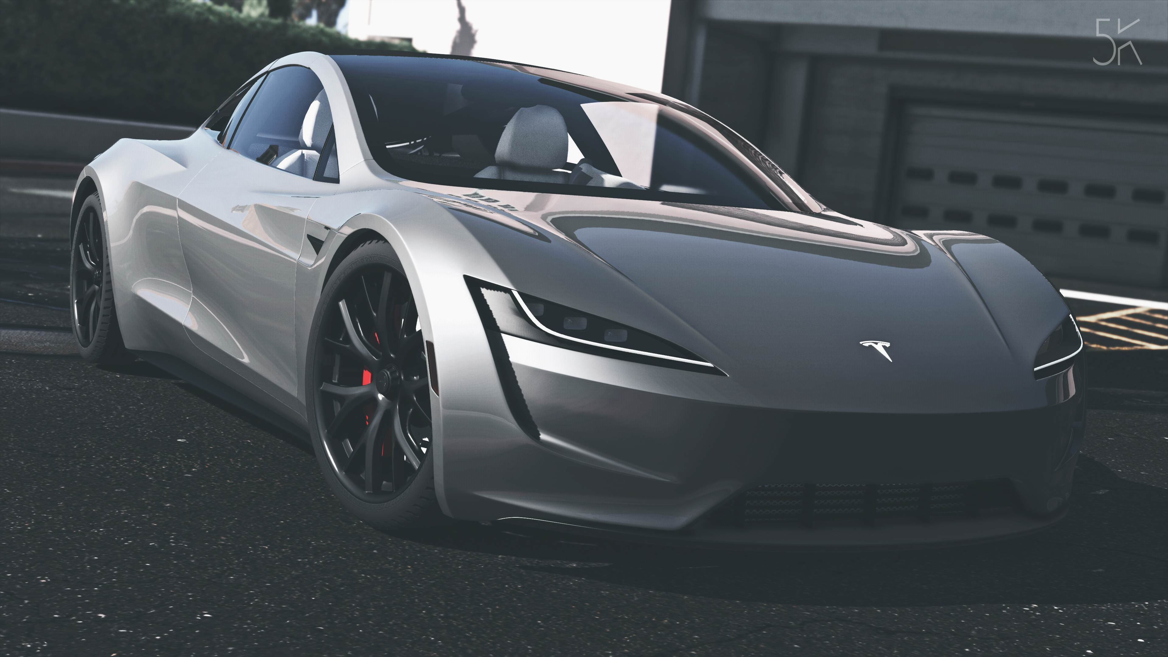 tesla roadster 2020 add on replace auto spoiler gta5. Black Bedroom Furniture Sets. Home Design Ideas