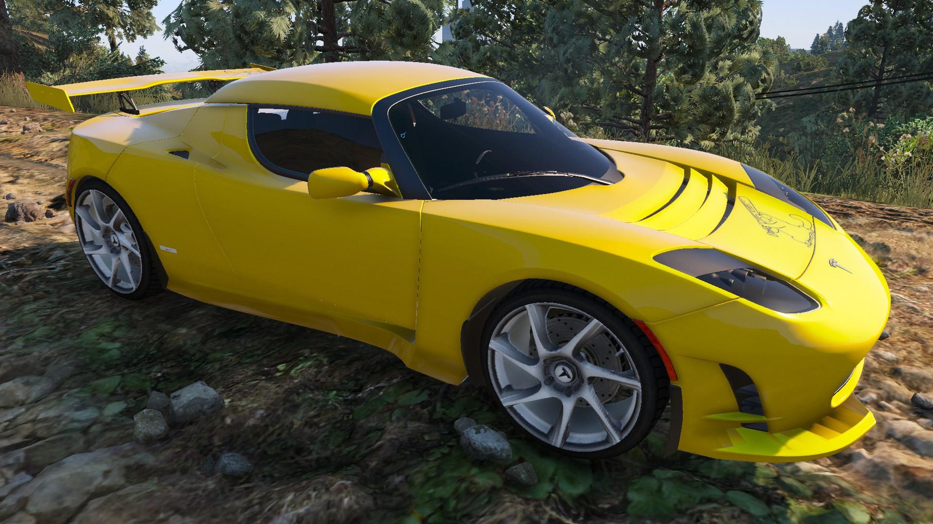 Tesla Roadster Sport 2015