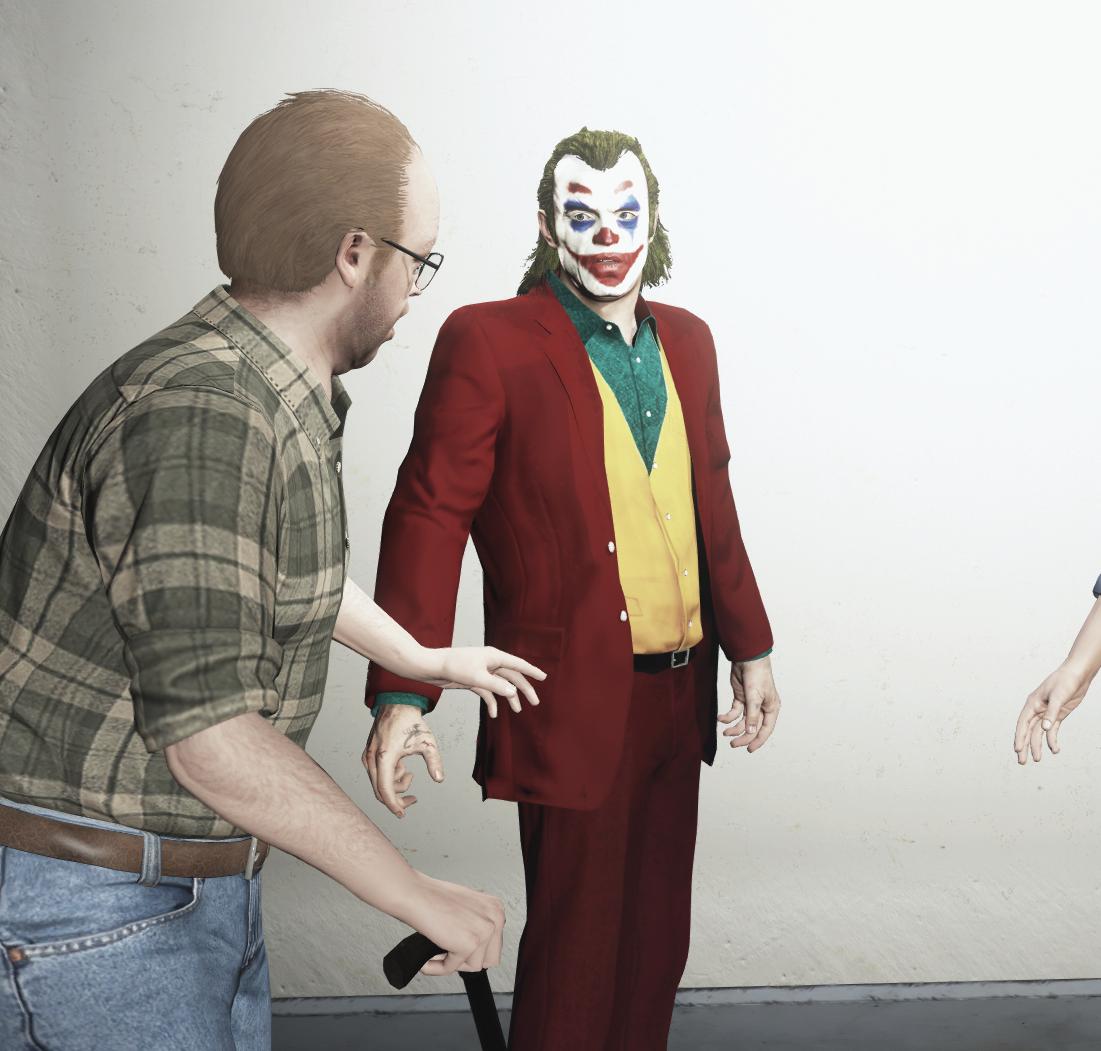 Undisputed 4 Boyka Texture Joker for Trev...