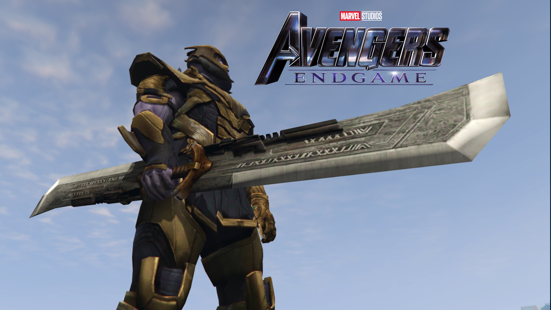 Thanos Double-Edged Sword (Avengers Endgame) - GTA5-Mods com