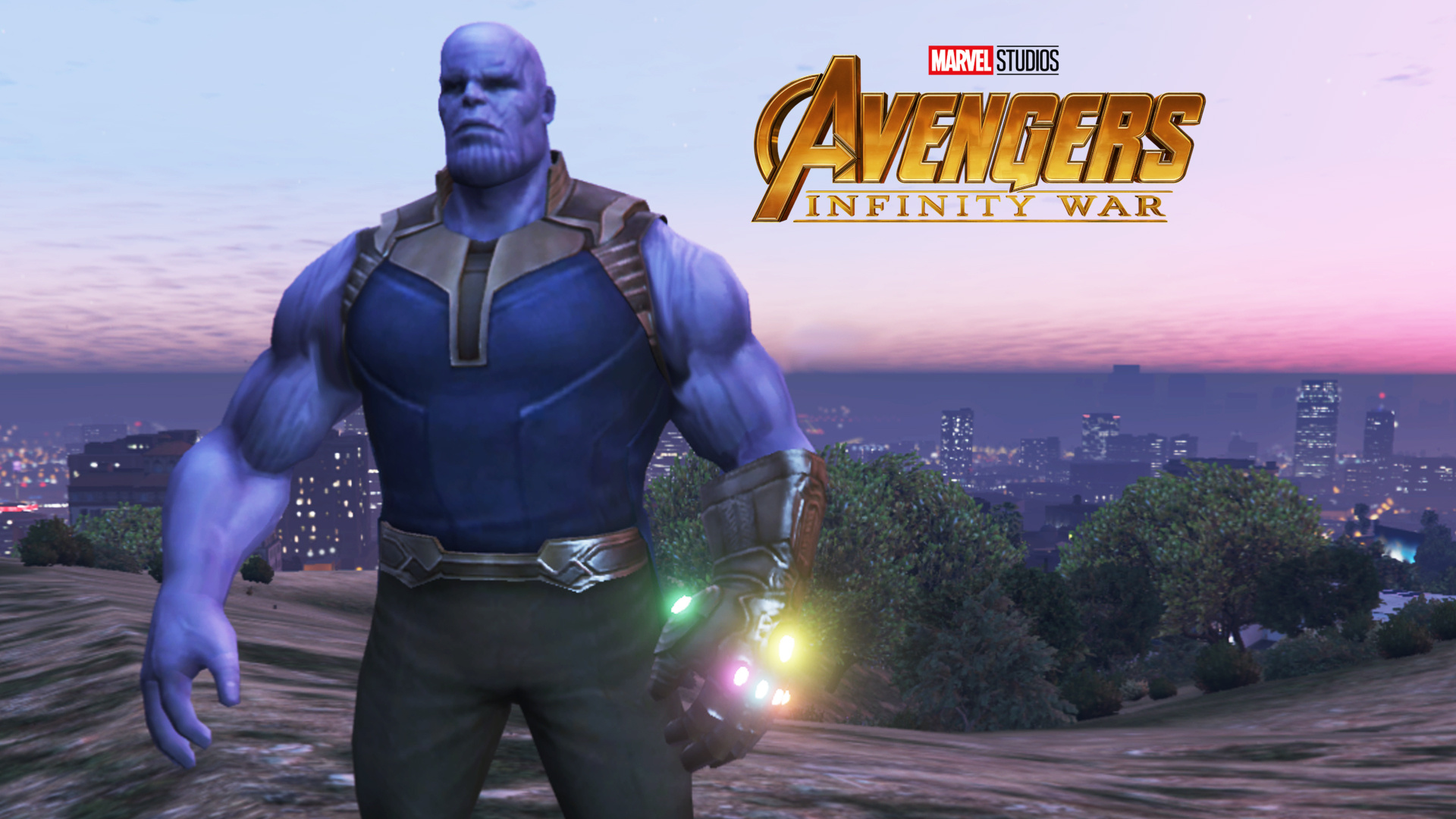 Thanos (Infinity War & GOTG) - GTA5-Mods com