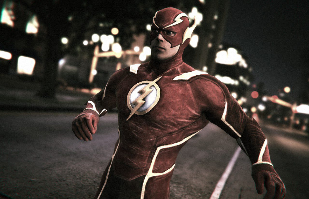 The Flash from Injustice 2 [Add-On Ped] - GTA5-Mods com