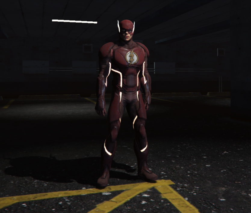 The Flash from Injustice 2 [Add-On Ped] - GTA5-Mods.com