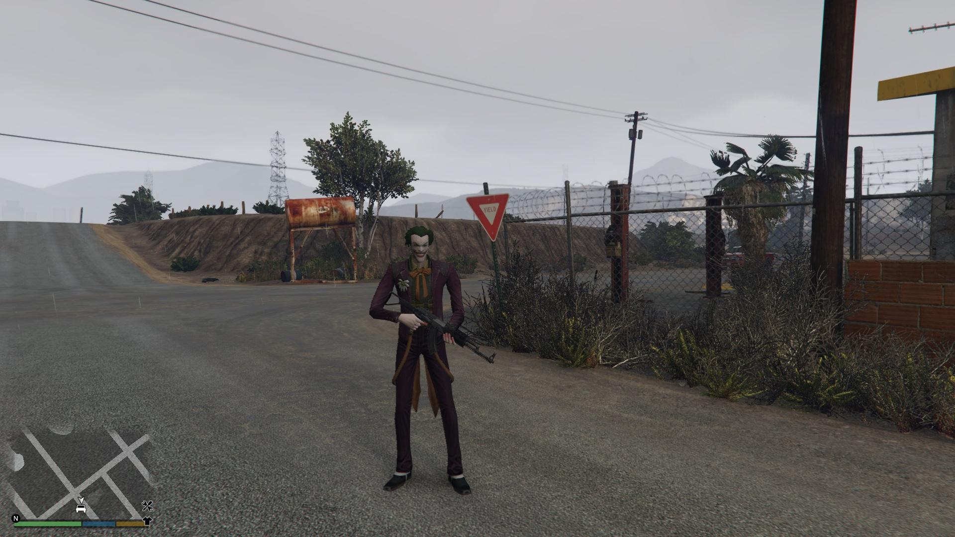 The Joker [Ped] - GTA5-Mods com