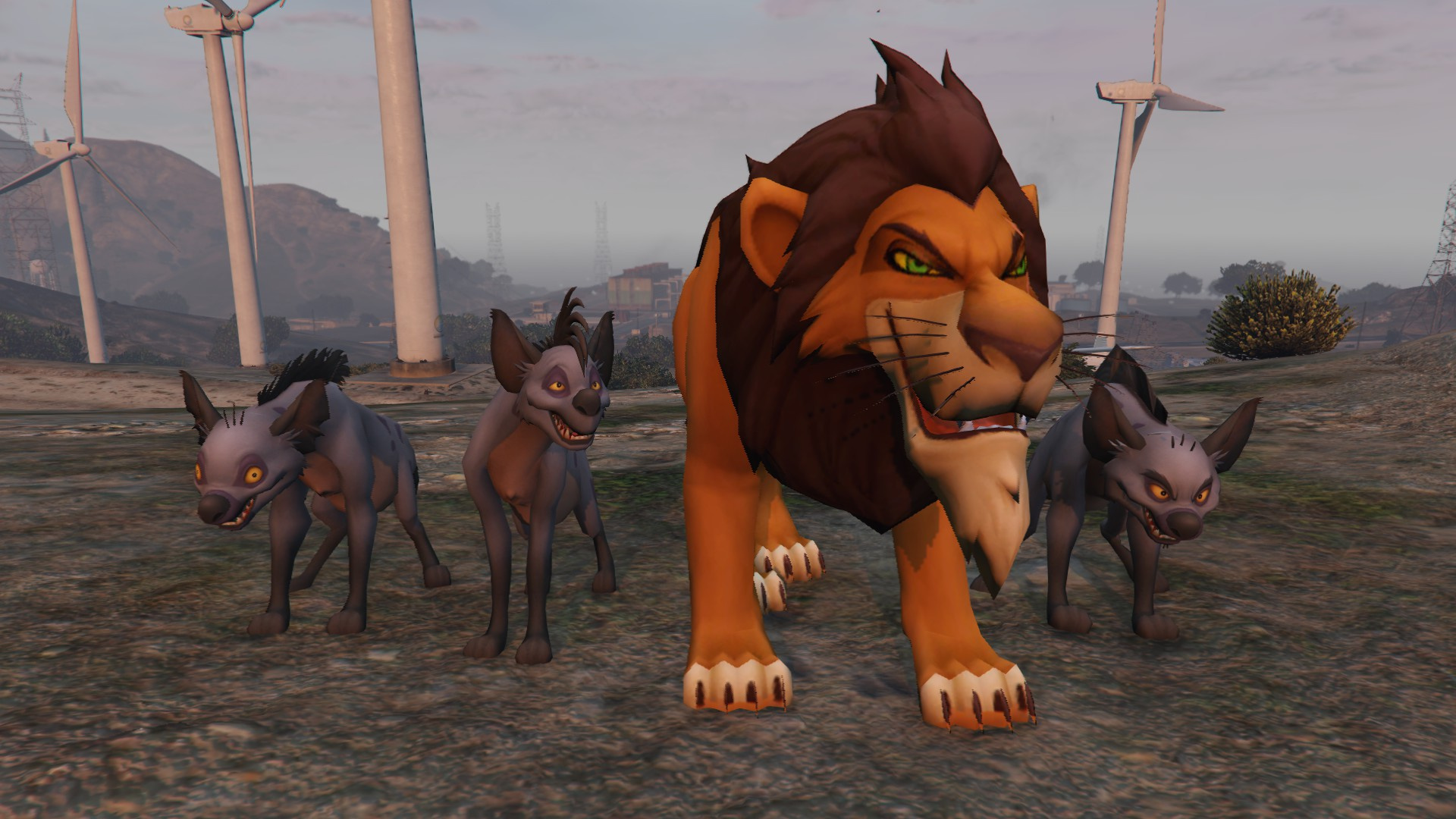 The Lion King Pack - GTA5-Mods.com