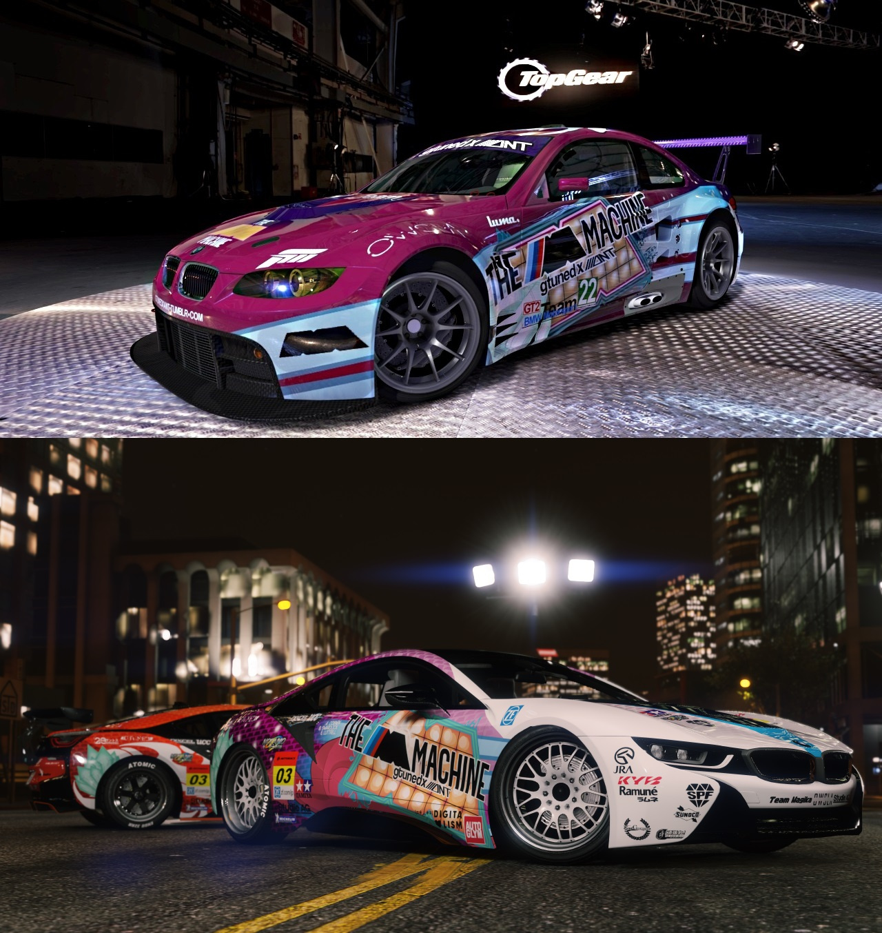 The M Machine Livery For The BMW I8