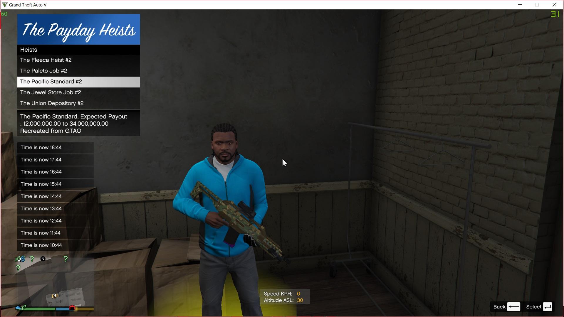 The Payday : A single Player Heist Mod - GTA5-Mods com