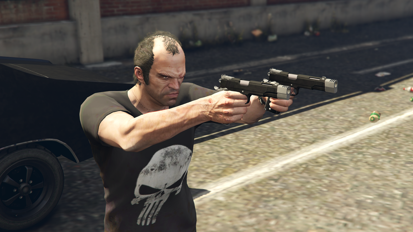 Punisher Custom 1911 - GTA5-Mods.com