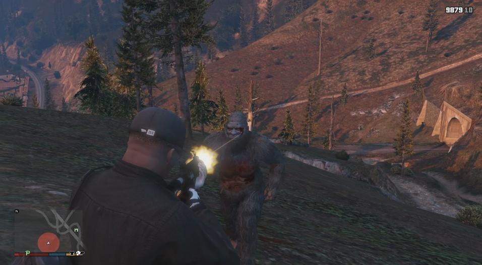 The Real Bigfoot Myth Script Gta5 Mods Com