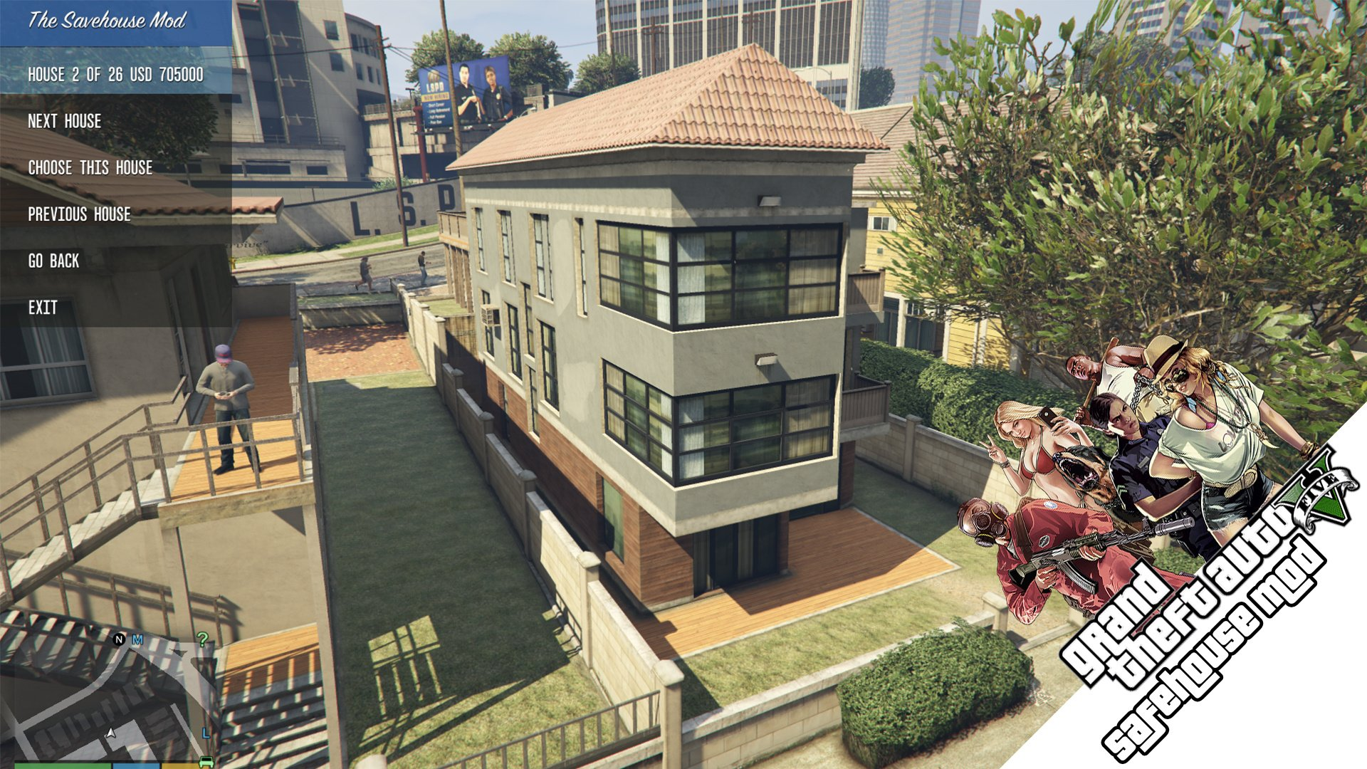 gta online characters share apartment