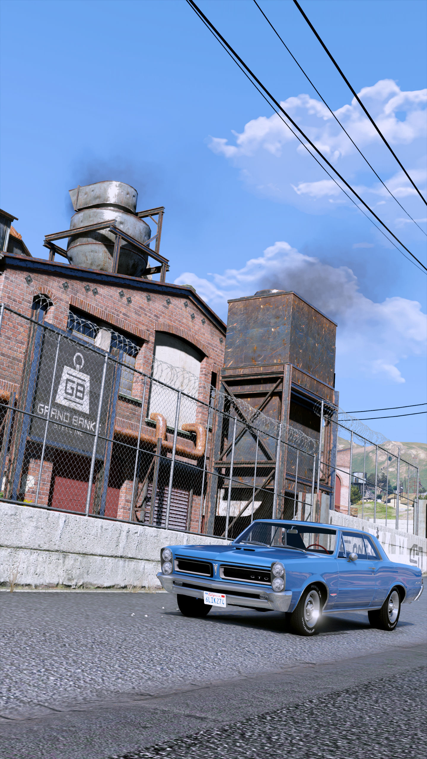 The sun is shining brightly  ENB - GTA5-Mods com