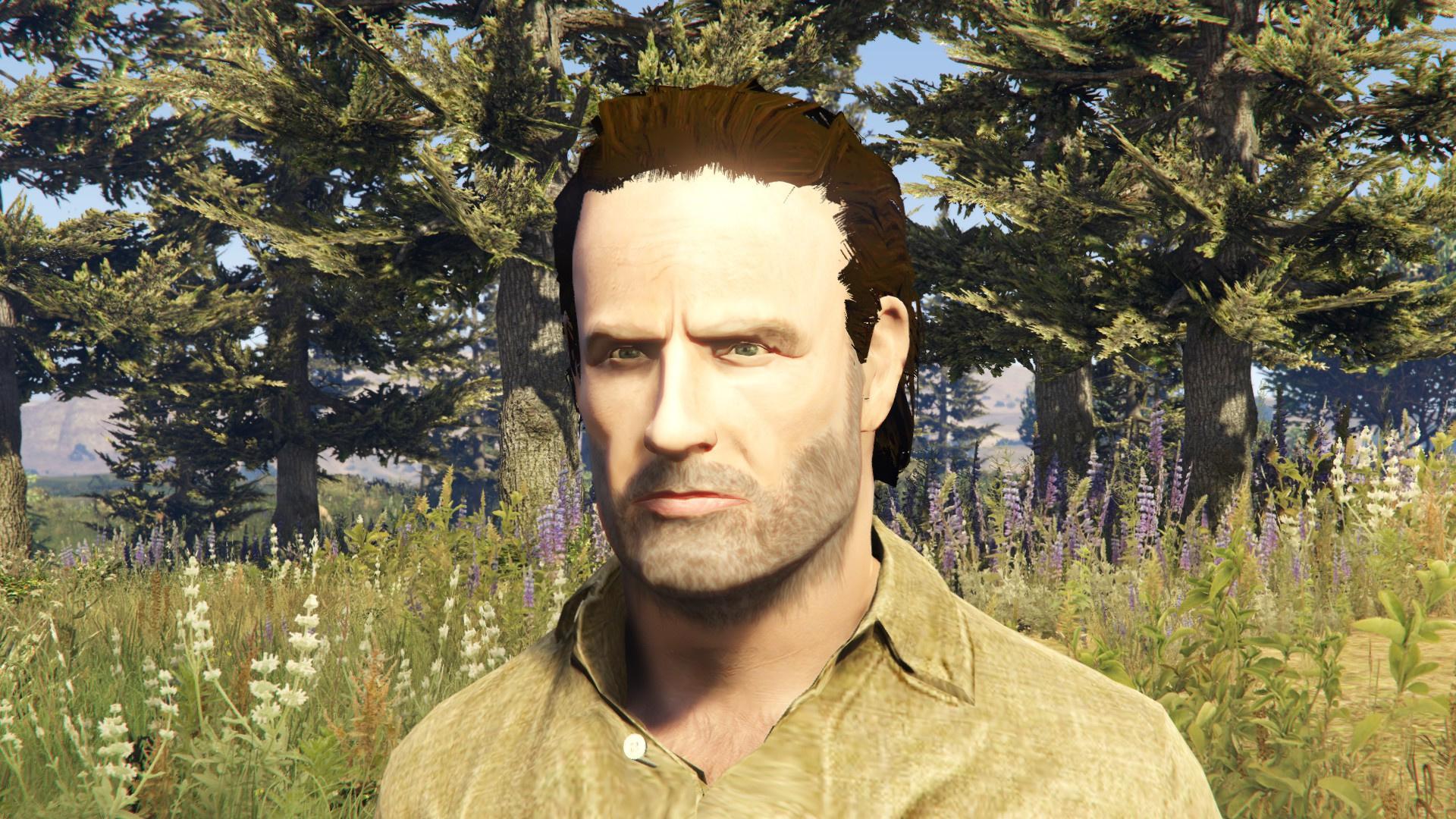 Walking Dead: Rick Grimes [Ped Model]