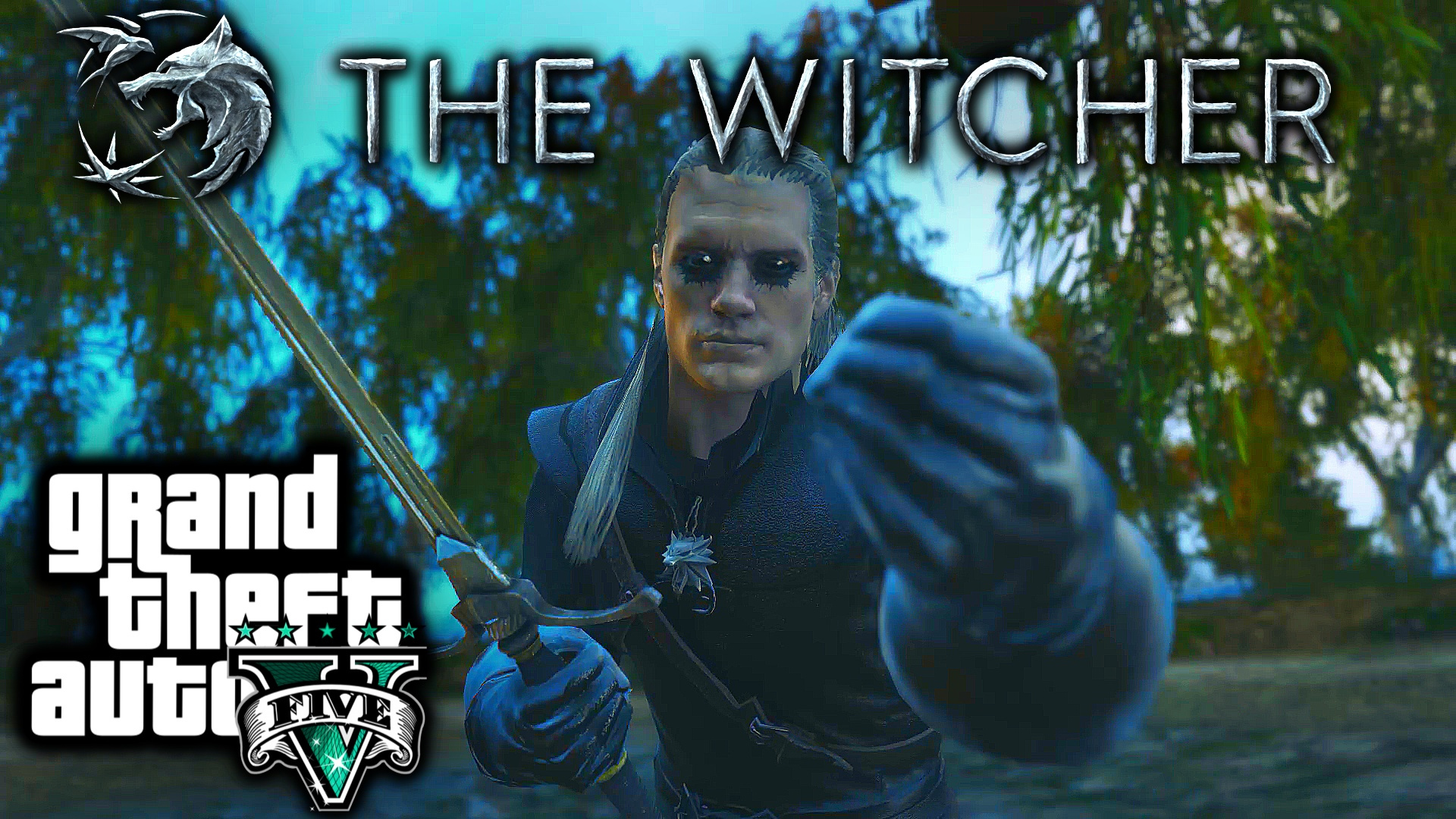 The Witcher Monster Killer Eyes Gta5 Mods Com