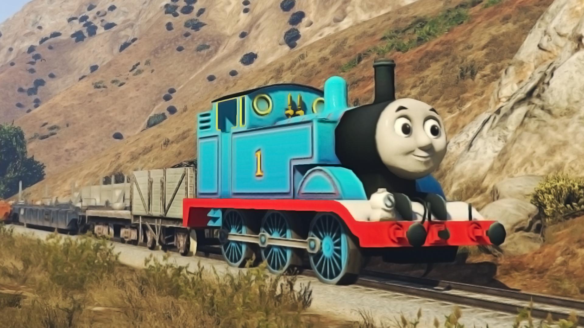 Thomas The Tank Engine Replace Freight Train Gta5 Mods Com