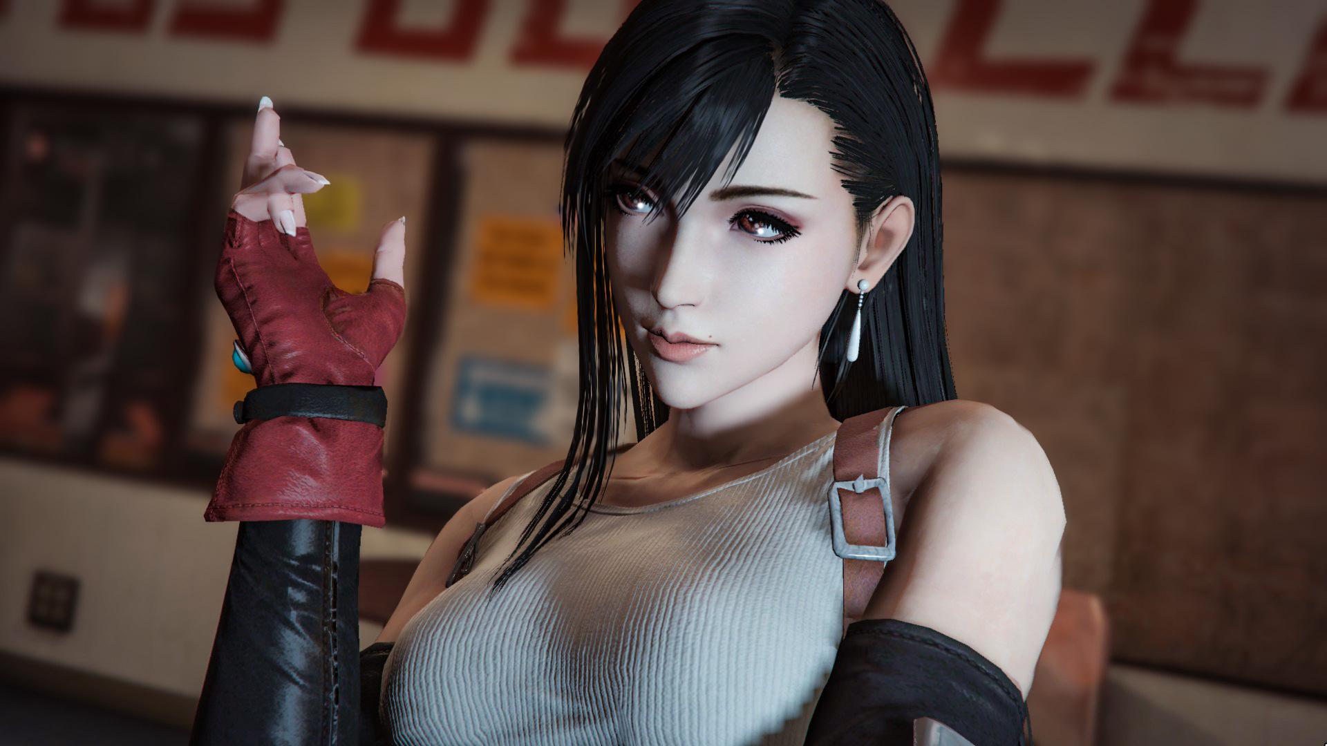 Tifa Lockhart Final Fantasy 7 Add On Ped Replace Gta5
