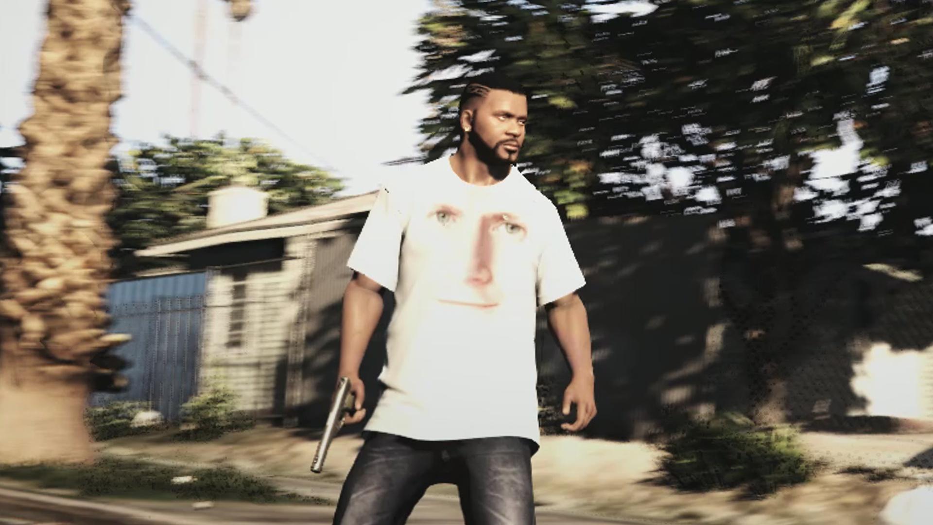 Todd Howard T Shirt For Franklin Gta5 Modscom