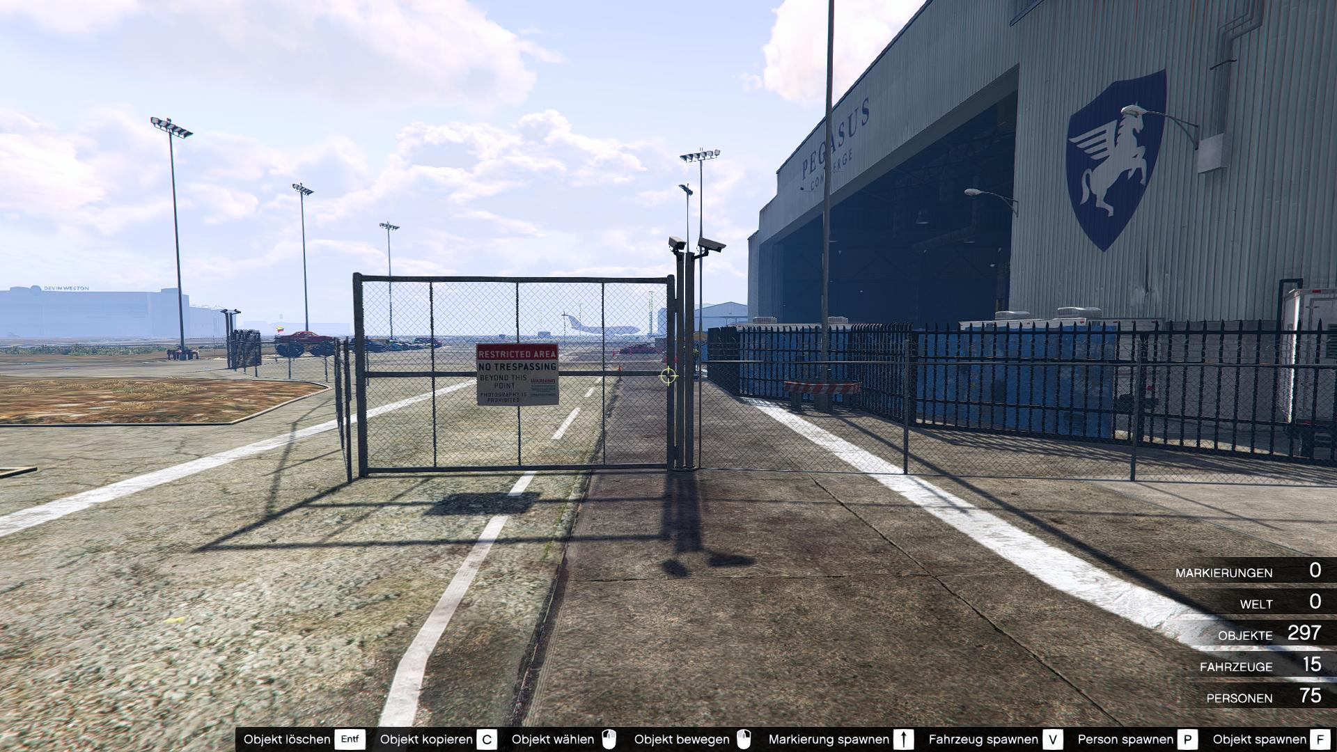 how to change hangar acceaories in gta
