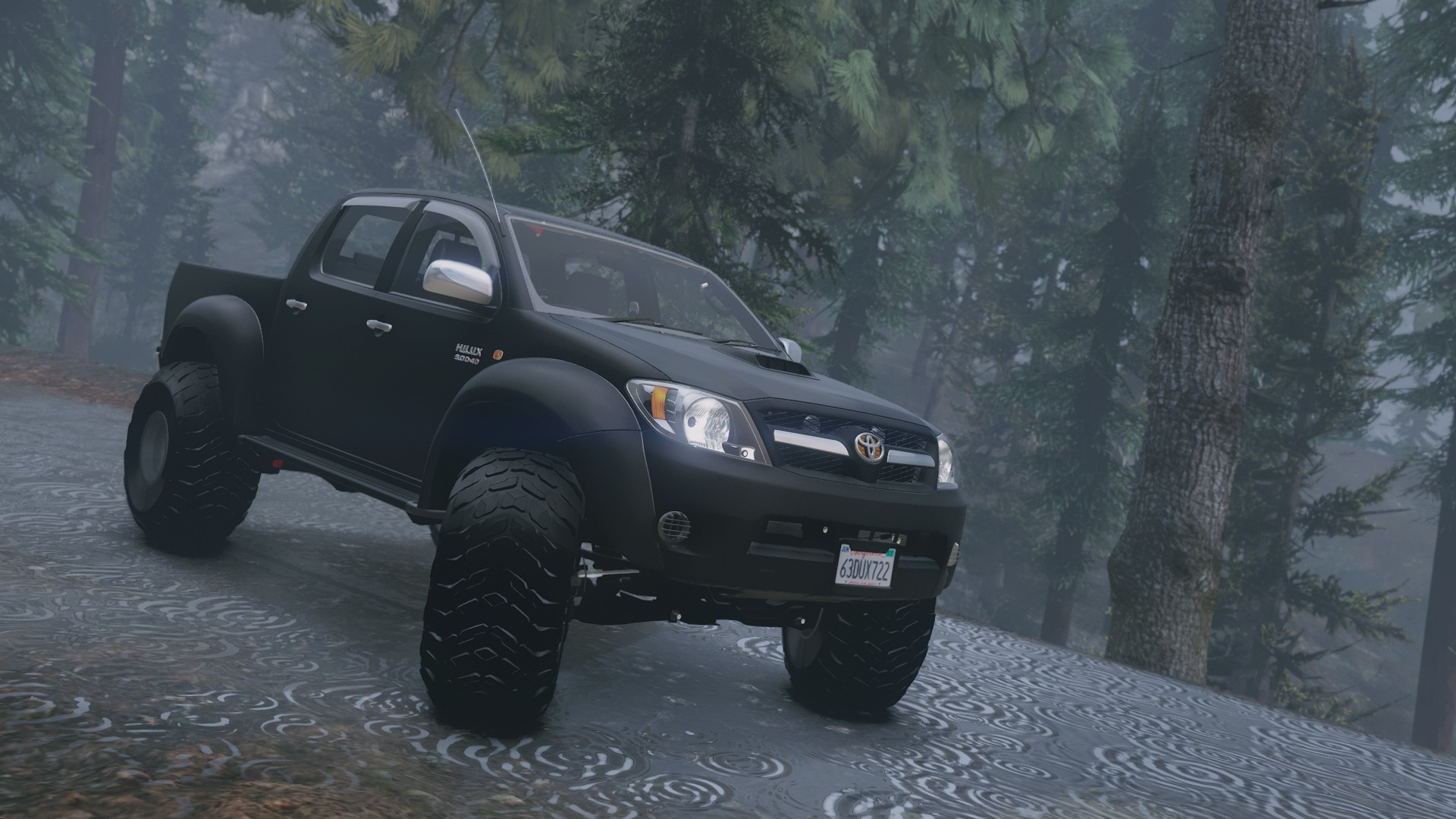 2007 top gear toyota hilux at38 arctic trucks add on tuning gta5. Black Bedroom Furniture Sets. Home Design Ideas