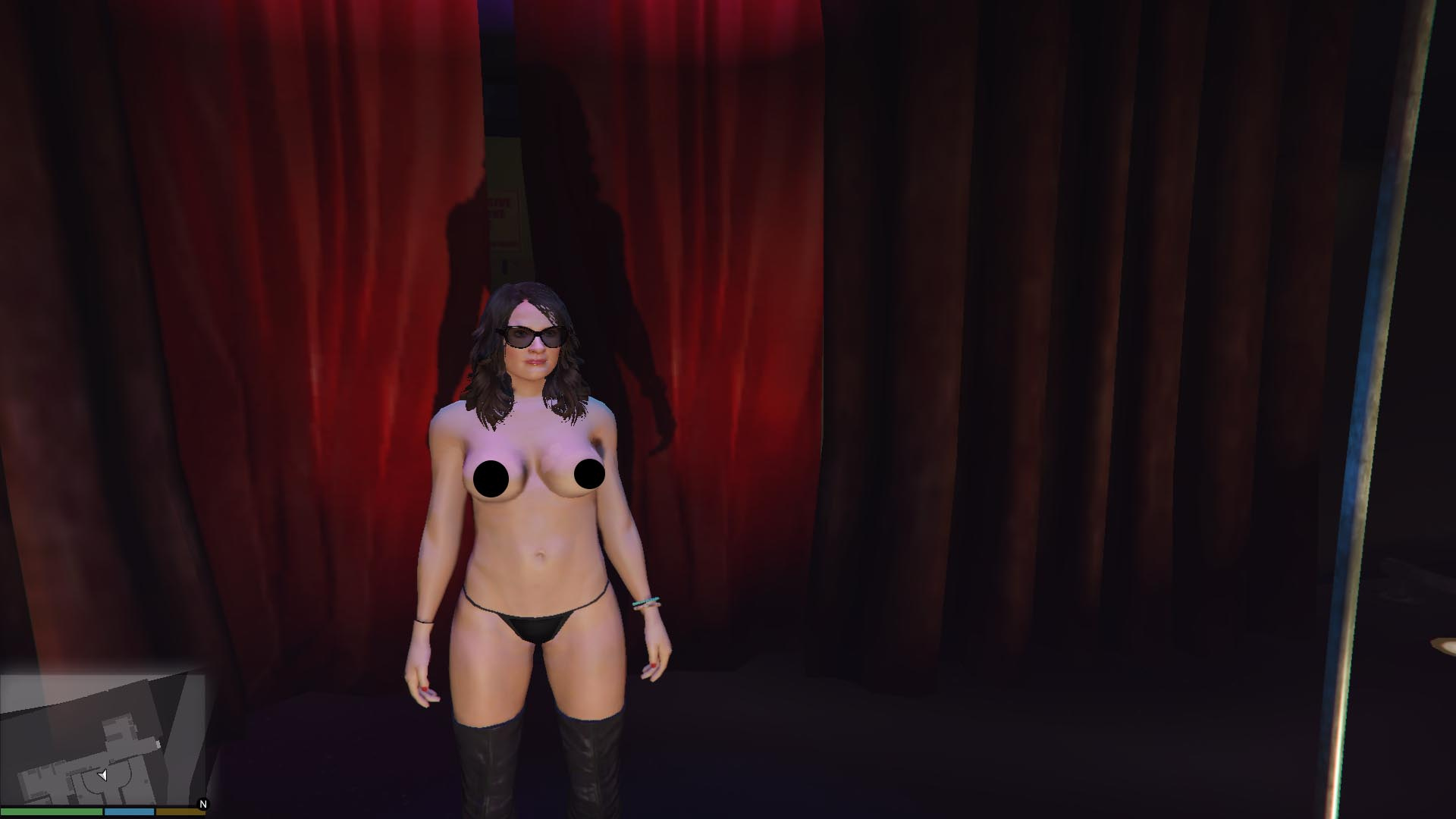 Cheaply gta 5 nude mod with you