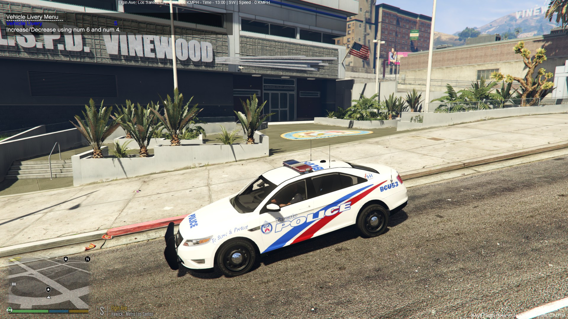 toronto police ford 2016 gta5. Black Bedroom Furniture Sets. Home Design Ideas