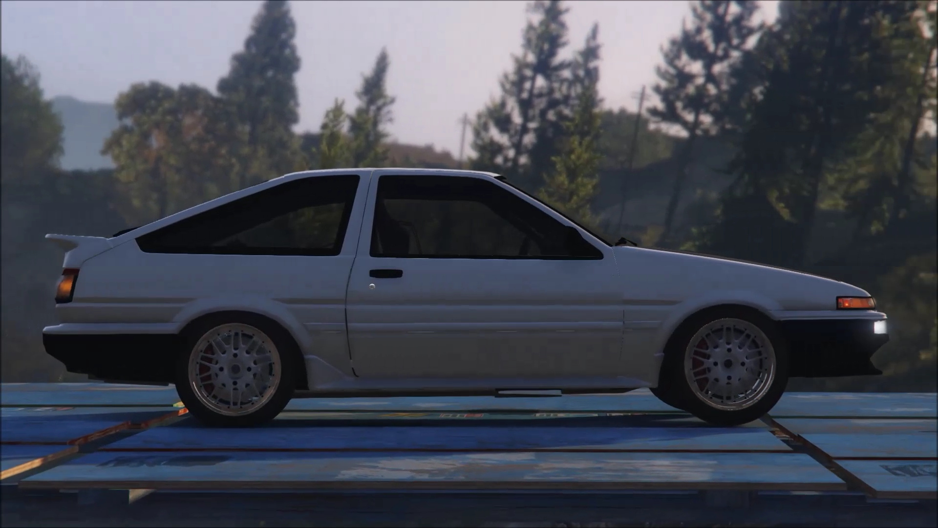 Toyota ae86 drift gta5 for Toyota 86 exterior mods