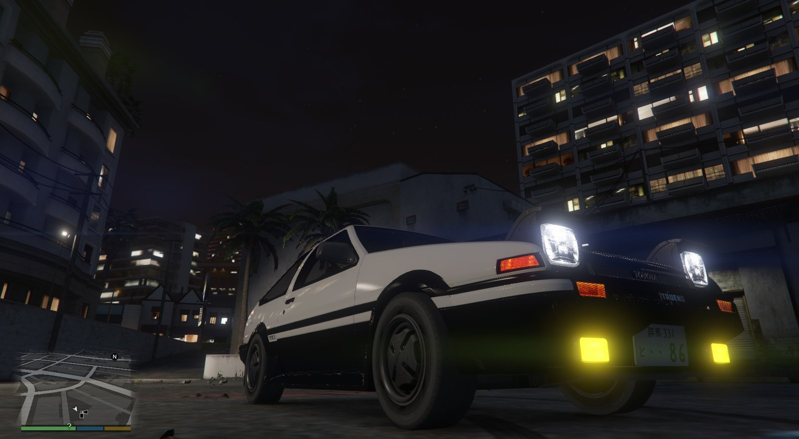 Toyota ae86 sprinter pack add on tuning gta5 for Toyota 86 exterior mods