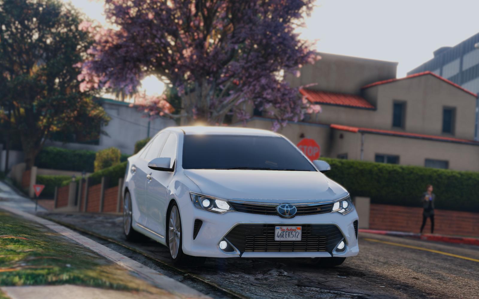 Toyota Camry 2016 Add On Replace Gta5 Mods Com
