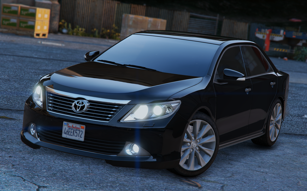 toyota camry v50 add on replace gta5. Black Bedroom Furniture Sets. Home Design Ideas