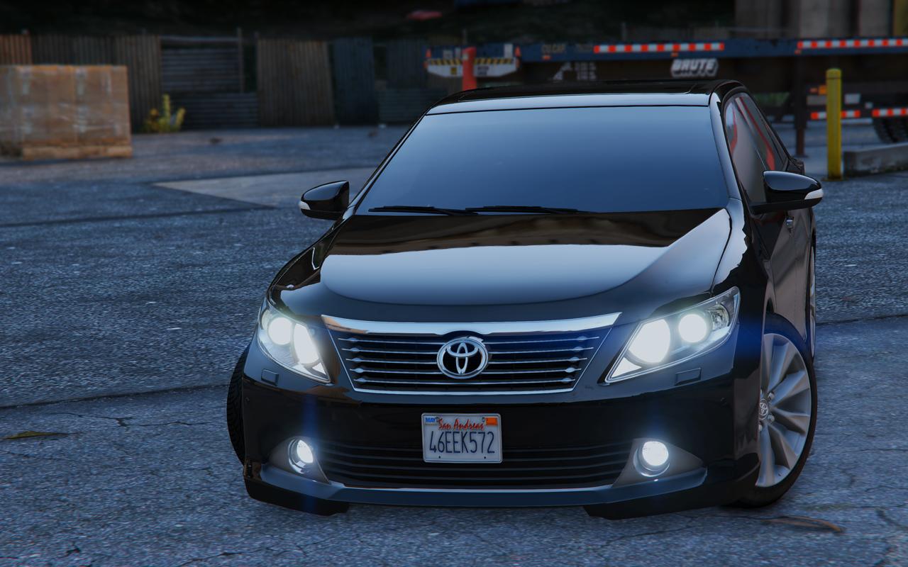 Toyota Camry V50 Add On Replace Gta5 Mods Com