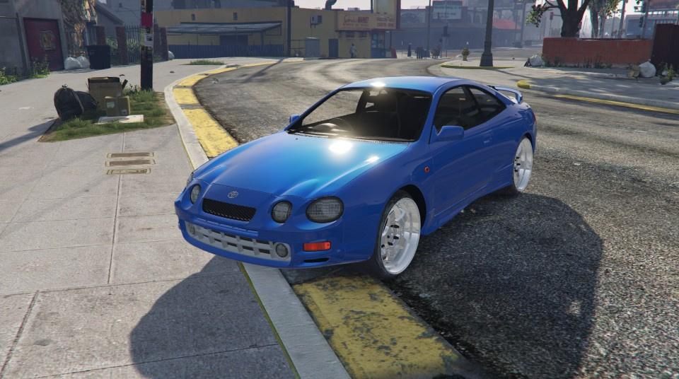 Toyota Celica GTFour ST205 1994 AddOn  Replace  GTA5Modscom
