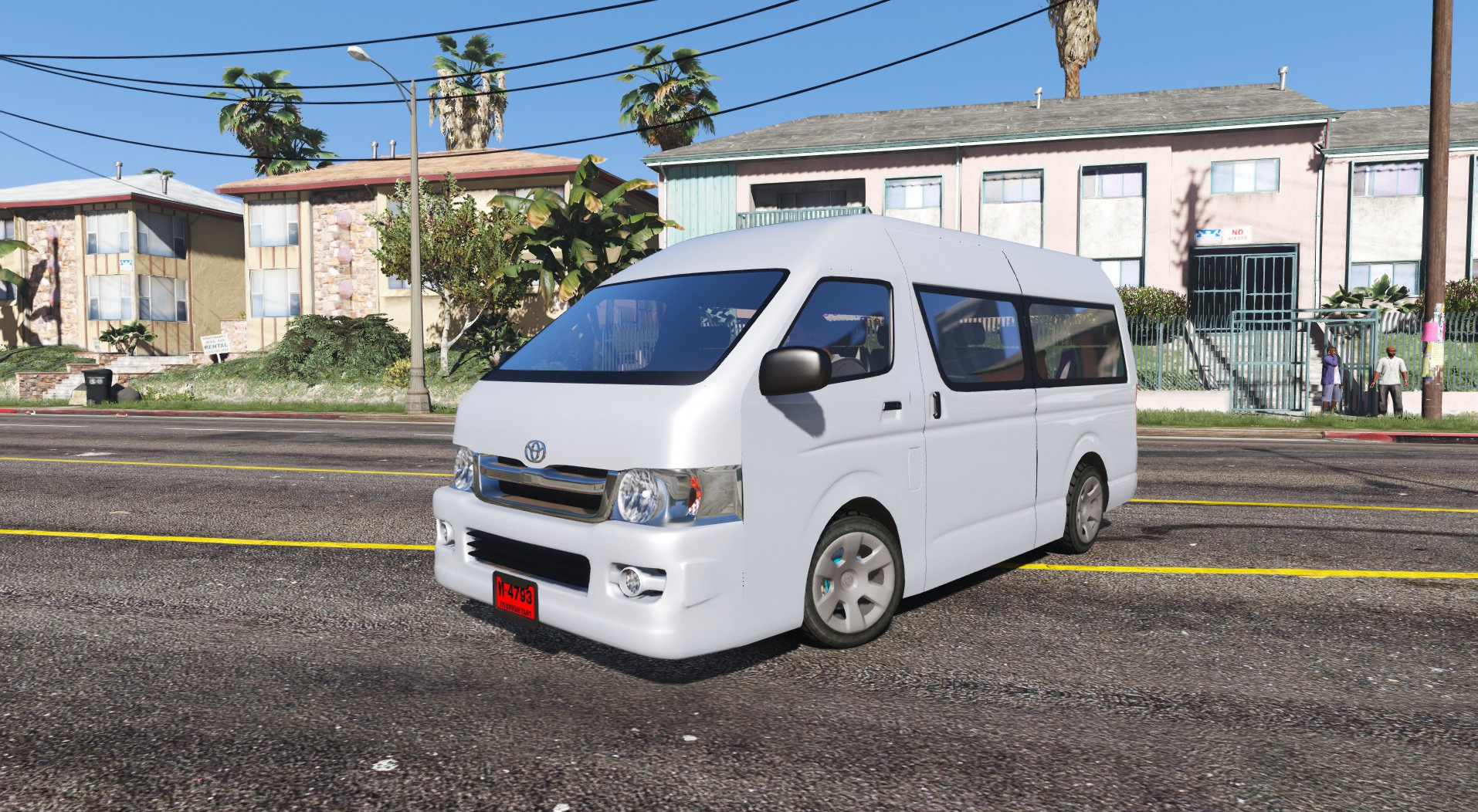 Toyota Hiace Replace Template Gta5 Mods Com