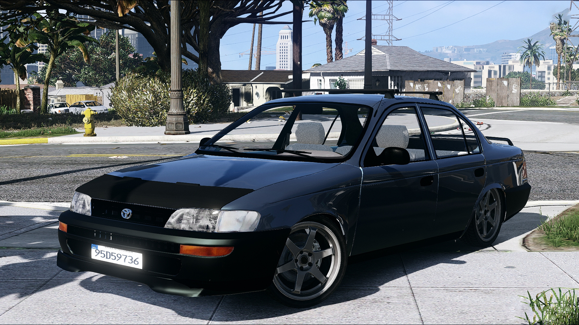 Toyota Corolla 1995 XLI Irish-Based - GTA5-Mods com