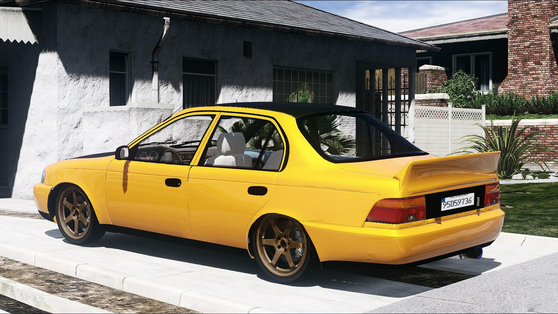 Kekurangan Corolla 1995 Review